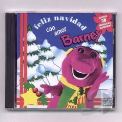 Barney Feliz Navidad Con Amor Cd Album