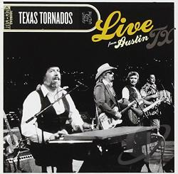 Texas Tornados Live From Austin Tx Cd Album