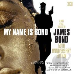 my name is bond james bond 50th anniversary edit soundtrack cd album. Black Bedroom Furniture Sets. Home Design Ideas